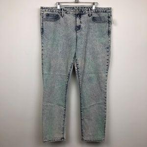 NWT Gap 1969 Acid Wash Always Skinny Jeans